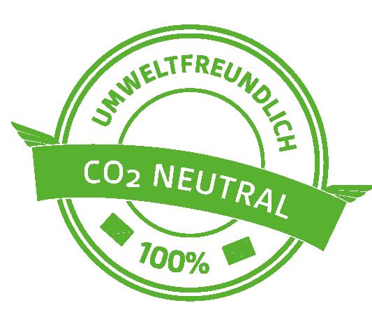 Umweltfreundlich CO2 Neutral